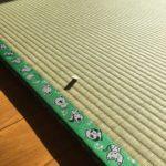 薄い置き畳の施工例
