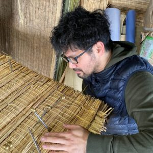 手製の畳床研修